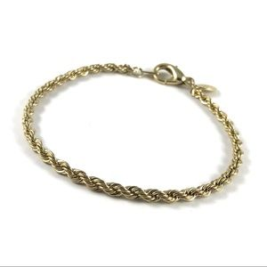 Beautiful Gold Chain American Showcase Bracelet